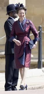 princess anne princess anne s outfit at royal wedding 2018 photos of princess