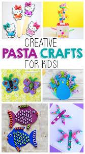 creative pasta crafts for kids i heart arts n crafts