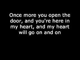 titanic song with lyrics
