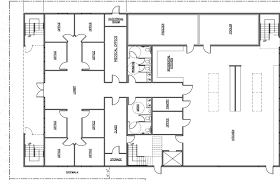 architecture floor plan floor plan architecture data center architectural house plans