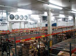 how to cool a warehouse with fans large ceiling fans and refrigeration units a very cool match