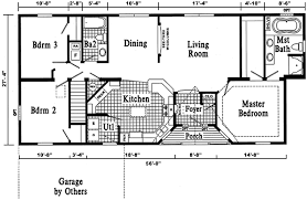 ranch style house floor plans 24 foot ranch house plans dover ranch style modular home