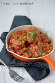 viande a cuisiner boulettes de viande à l espagnole cuisiner tout simplement le