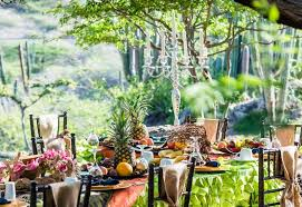 aruba wedding venues breakfast in the park brides