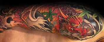 50 koi dragon tattoo designs for men japanese fish ink ideas