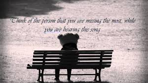 Words To Comfort Someone Who Lost A Loved One Hear This Song If You Re Missing Somebody Youtube