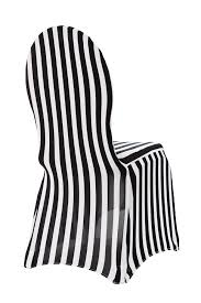 black and white chair covers spandex banquet chair cover stripe at cv linens cv linens