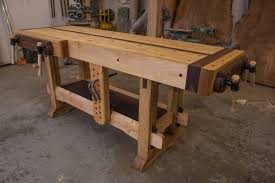 Wood Bench Vise Reviews by Roubo Workbench Photo On Mesmerizing Woodworking Bench Plans Ideal