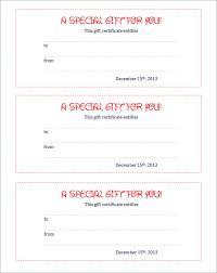gift coupon templateblank coupon template free printable