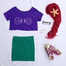 disney halloween t shirts halloween diy hipster disney princess ariel my cute bow