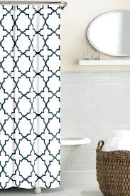 Pottery Barn Waffle Weave Shower Curtain Zigzag Shower Curtain For Our New Black And White With Teal