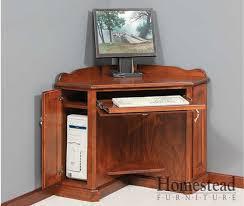 Corner Computer Desk Endearing Computer Desk For Corner Corner Computer Desk Homestead