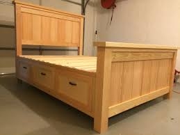 Wood Bed Frame With Drawers 80 Diy King Size Platform Bed Frame My Diy Projects Pinterest