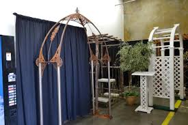 wedding arches rental vancouver arch rustic weathered iron rentals portland or where to rent arch