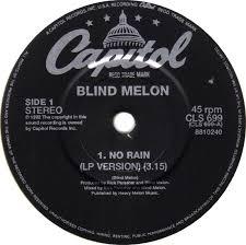 Blind Lemon No Rain 45cat Blind Melon No Rain Lp Version No Bidness Triple