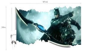 3d avenger batman spiderman iron man minions wall stickers marvel shipping