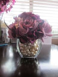 Small Flower Vases Cheap Pearl Centerpiece