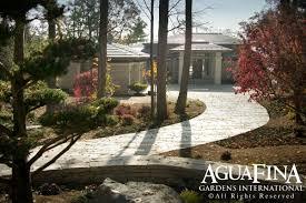 aguafina asian inspired rock garden