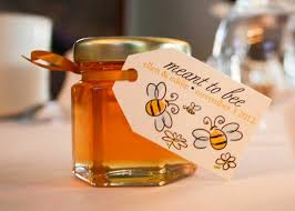 honey favors 2oz honey jar wedding favor your guests will enjoy