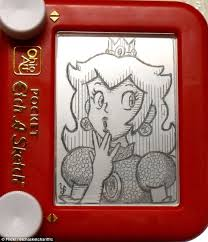 photos etch a sketch art drawing drawing art gallery