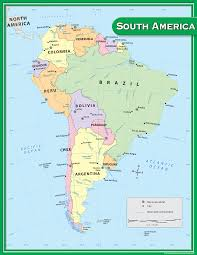Maps South America by South America Map Chart Tcr7656 Teacher Created Resources
