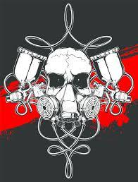 16755665 skull in respirator with spray gun jpg 778 1024