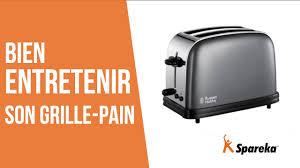 Rowenta Pieces Detachees by Comment Bien Entretenir Son Grille Pain Youtube
