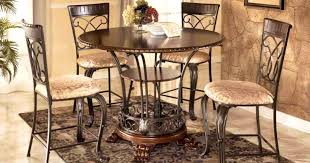 Bar Counter Height Dining Table Sets With Butterfly Leaf