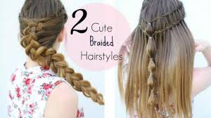 heatless hair styles easy french braid ponytail hairstyle for indian wedding occasion