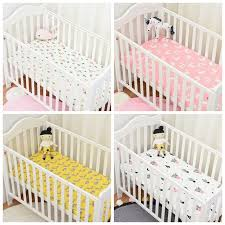 Baby Crib Mattress Sale Muslinlife Flamingo Cactus Pattern Crib Mattress Protector Baby