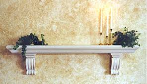 Stone Fireplace Mantel Shelf Designs by Shelves This Dark Brown Wooden Fireplace Shelving Unit Looks