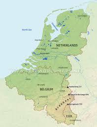 River Map Of Europe by Benelux Maps U2013 By Freeworldmaps Net