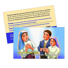 prayer card children of fatima prayer card