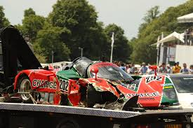 car maza expensive mazda 767b crashes at goodwood festival of speed gtspirit