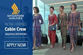 airline cabin crew singapore airlines cabin crew recruitment in malaysia ifly global