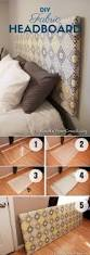 Homemade Headboard Ideas by 15 Easy Diy Headboard Ideas You Should Try Diy Fabric Headboard