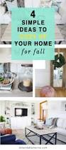 4 simple ideas to cozy up your home for fall