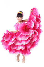 aliexpress com buy children flamenco dance costume flamengo