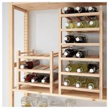 Corner Wine Cabinets Wineinet Ikea 0465990 Pe610353 S5 Jpg Hutten Bottle Rack White