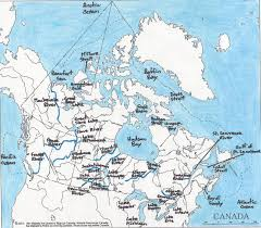 Canada Blank Map by Unit 1 Canadian And World Studies