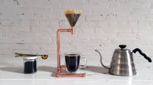 Home Made Modern by How To Make A Diy Coffee Maker Out Of Copper Pipe Youtube
