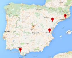 San Sebastian Spain Map by Motogp 2016