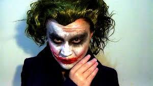 the joker halloween costume for men heath ledger u0027s the joker make up tutorial youtube