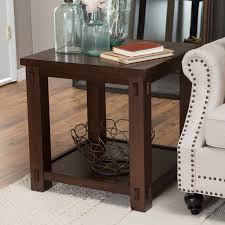 end tables designs end table square shape wooden material brown