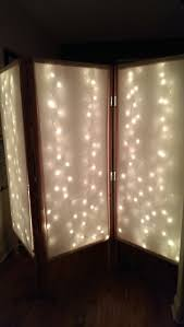 Privacy Screen Room Divider by Lighted Room Divider Privacy Screen 7 Steps With Pictures