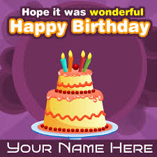 write your name on beautiful birthday wishes cards free birthday