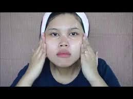 cara membuat wajah menjadi glowing secara alami fasial sendiri di rumah menggunakan susu memutihkan wajah dan