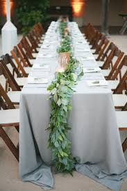 wedding linen fresh wedding trend greenery only