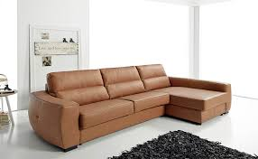Leather Sleeper Sofas Sleeper Sectional Sofa Ef Troy Spain