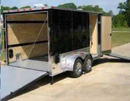 Enclosed Trailer Awning For Sale 14 Feet 2014 Trailershowroom Com 7x14 Enclosed Trailer Motorcycle